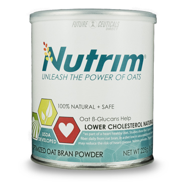 For a Low Cholesterol Diet, Use Nutrim Oat Beta-Glucan