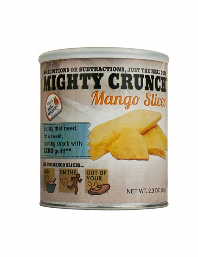 Mighty Crunch Mango Slices