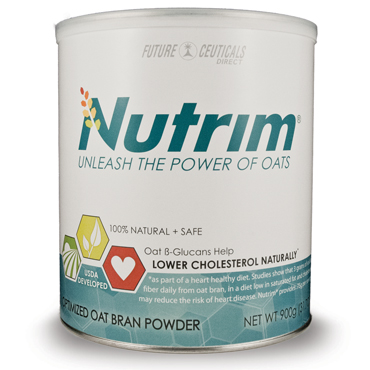 Cholesterol-lowering oats in food with Nutrim 120