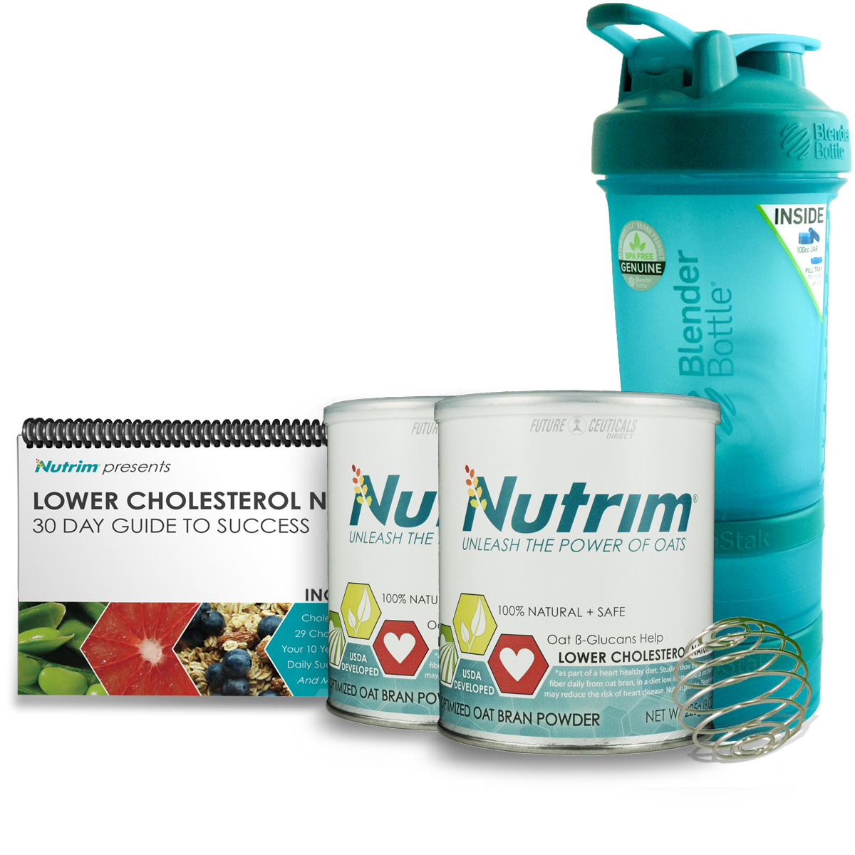Achieve lower cholesterol with Nutrim Starter Kit